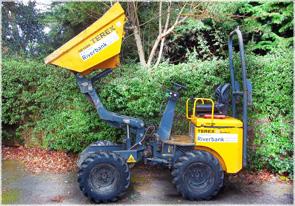 Terex HD1000 Skip loading dumper